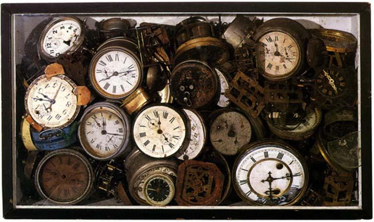 Arman accumulation paradoxe du temps for Arman accumulation