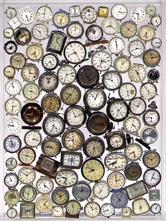 Ce qu 39 arman a fait avec des montres for Arman accumulation